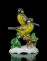 """The birds"", Hugo Meisel, Rosenthal, after 1957,  antiques Warsaw, old porcelain, porcelain figurines"