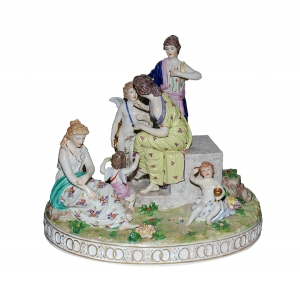 A Multiform Group, Royal Vienna Porcelain, 1770-1810