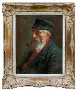 "Salomon Meisner ""Man with the pipe"""