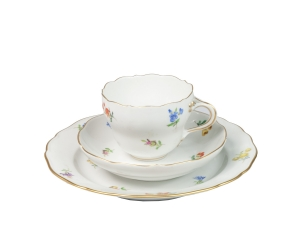 Breakfast Set, Meissen, 20th century