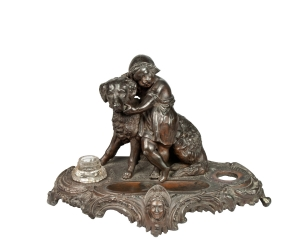 Inkwell, early 20th century