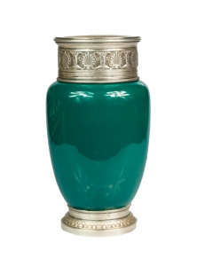 Vase,  A. Risler & Carre, Luneville, France, end of 19th century