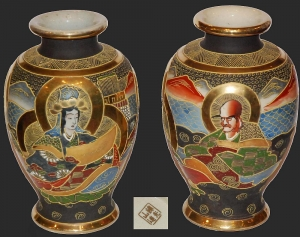 Pair of vases, Japan, circa 1900