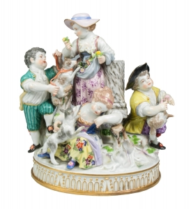 Children, Meissen, 19th century