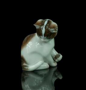 """Sitting cat"", Rosenthal, after 1957"