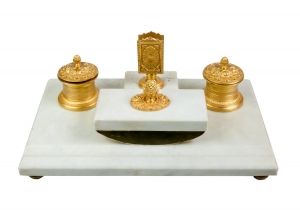 Desk set, The Łopieński Brothers , Warsaw, 19th/XXth century
