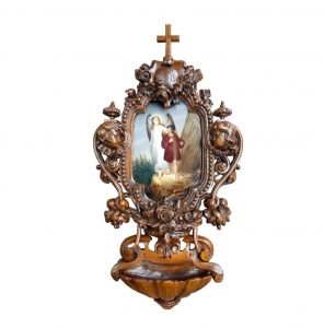 Neo-Baroque stoup , 19th century