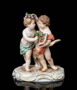Kids, Meissen, end of the 19th century