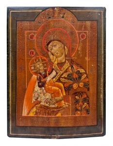 Icon, Mother of God, Russia, early 20th century