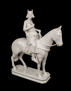 The Bamberg Horseman, Gustav Oppel, Rosenthal, half of 20th century