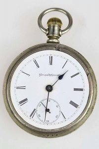 Pocket watch, Atlas Watch Co, Chicago, 20th century