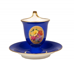Tea cup, KPM, Berlin, 19th century