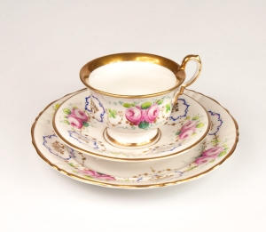 Breakfast Set, Carl Tielsch, Wałbrzych, 19th/20th century