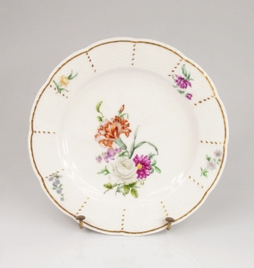 Decorative plate, The Royal Porcelain Factory (KPM), Berlin, early 19th century
