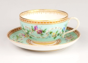 Tea cup, Paris, 19th century