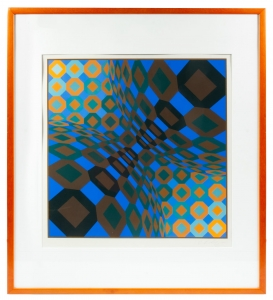"Victor Vasarely ""So-lo"", 1973"