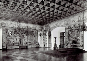 Emil Rachwał, A Parliamentary Room at the Wawel Castle, circa 1980