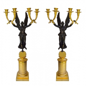 Pair of candelabras, Pierre-Philippe Thomire, France, late 19th century