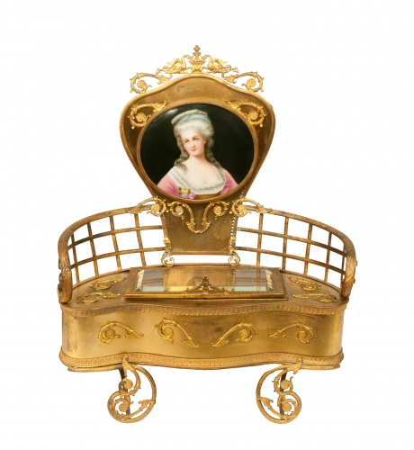 Jewelry box, Napoleon III, France, circa 1860